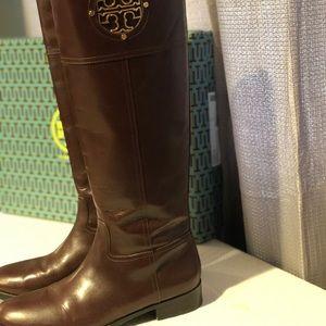 Tory Burch Shoes - Tory Burch Cognac Riding Boots
